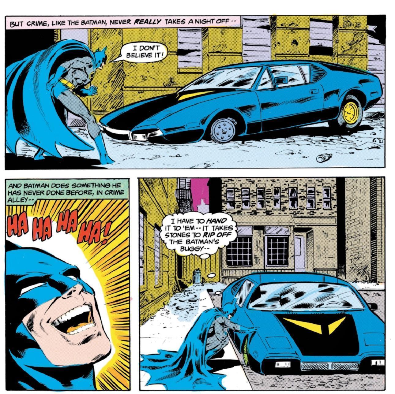 Neal Adams Batmobile