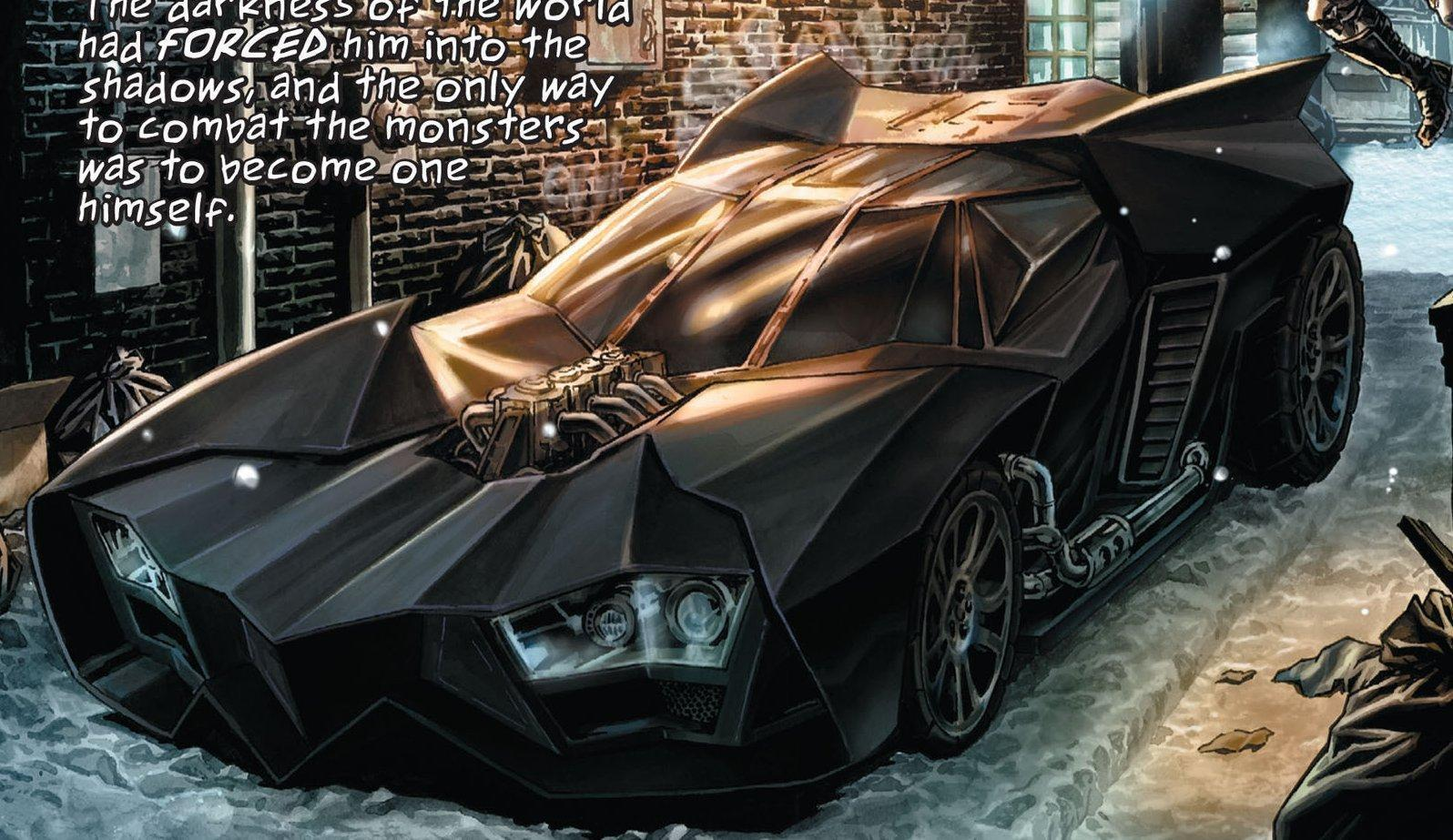 Lee Bermejo Batmobile