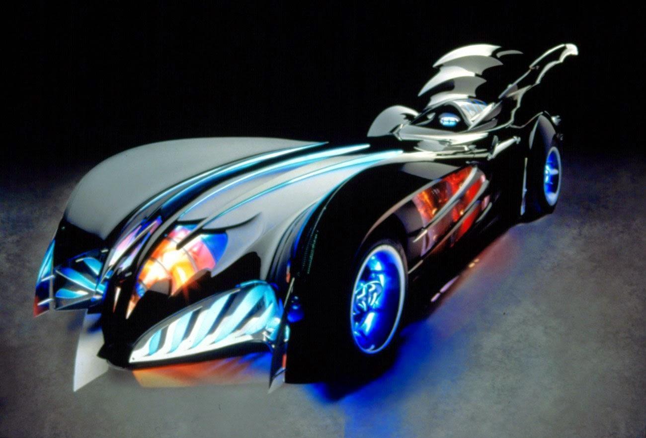 Batman a Robin Batmobile