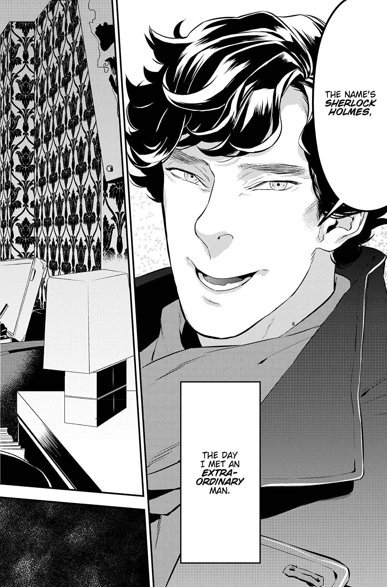 Sherlock ukážka Studie v rúžové