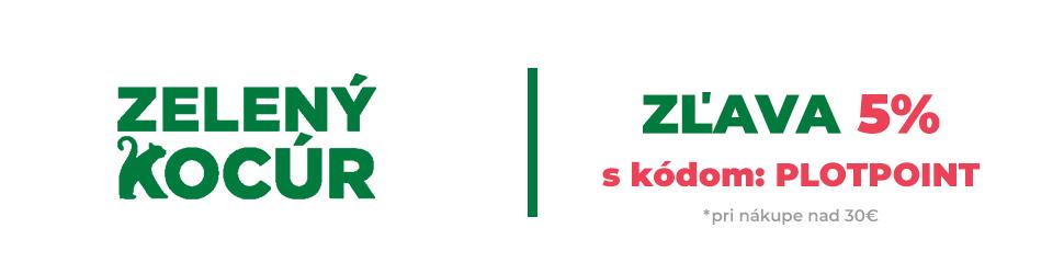 Zelený kocúr banner