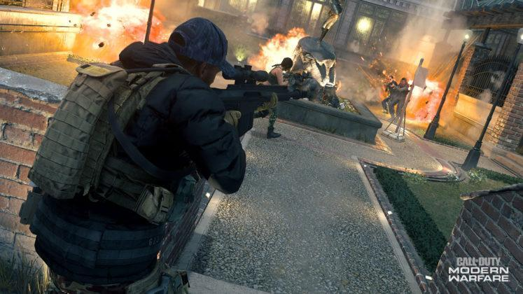 Call of Duty Modern Warfare Cheshire Park