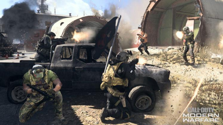 Call of Duty Modern Warfare Team Defender