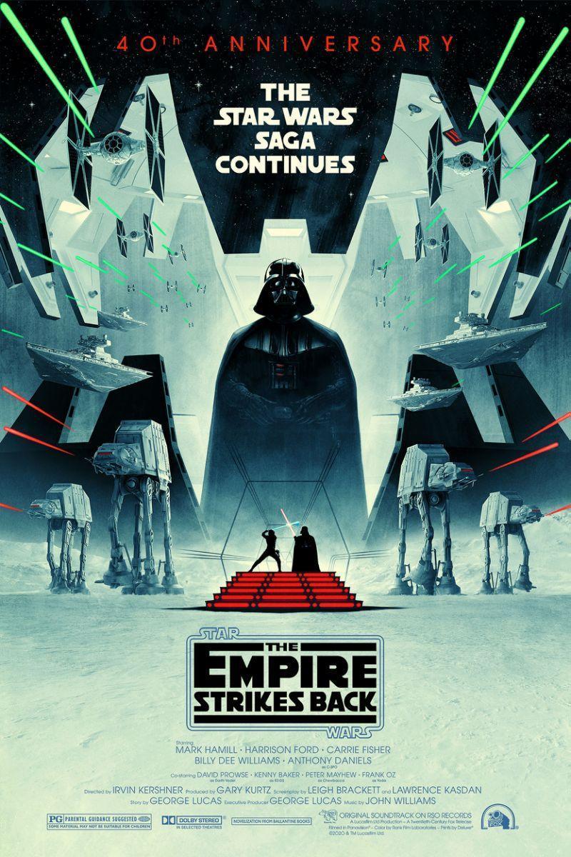 Plagát k 40. výročí Impérium vrací úder!