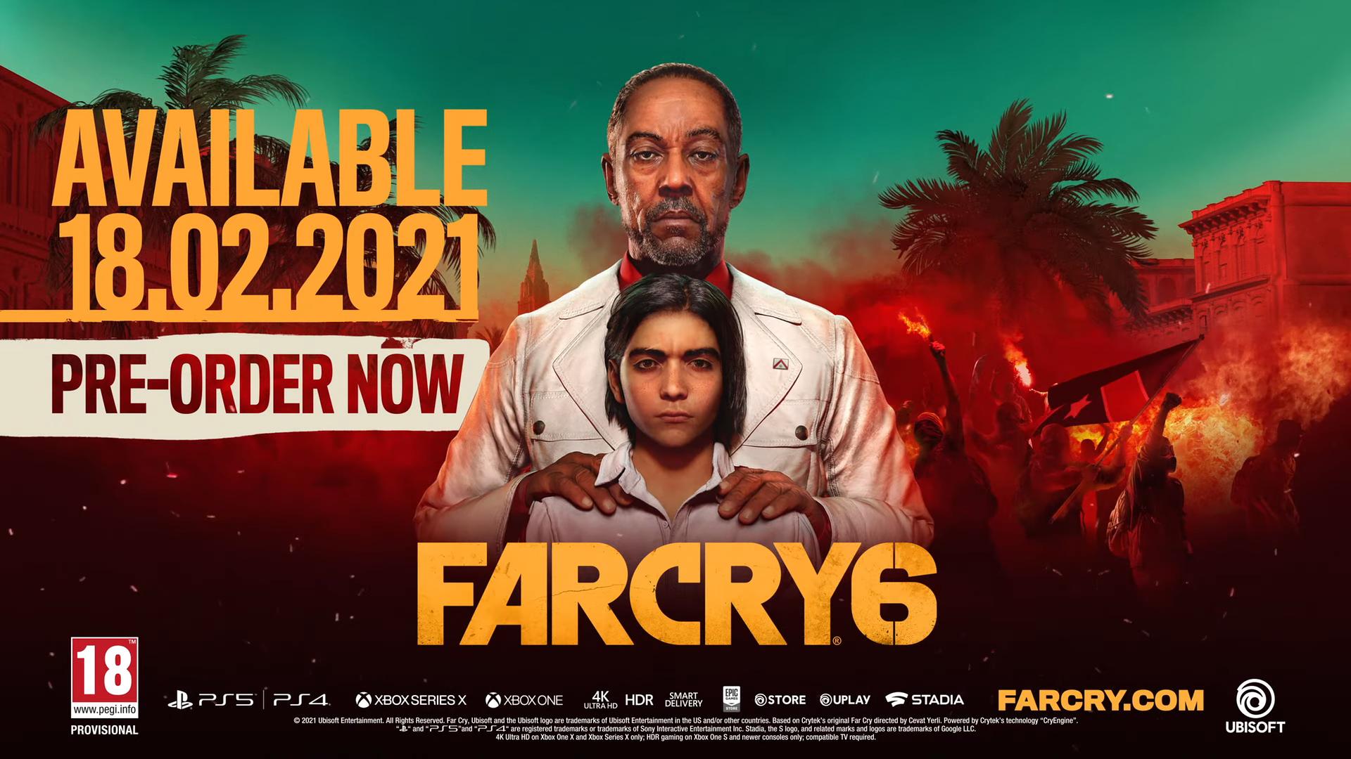 Ubisoft Forward 2020 Far Cry 6
