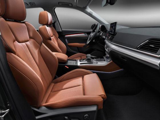 Audi Q5 interiér