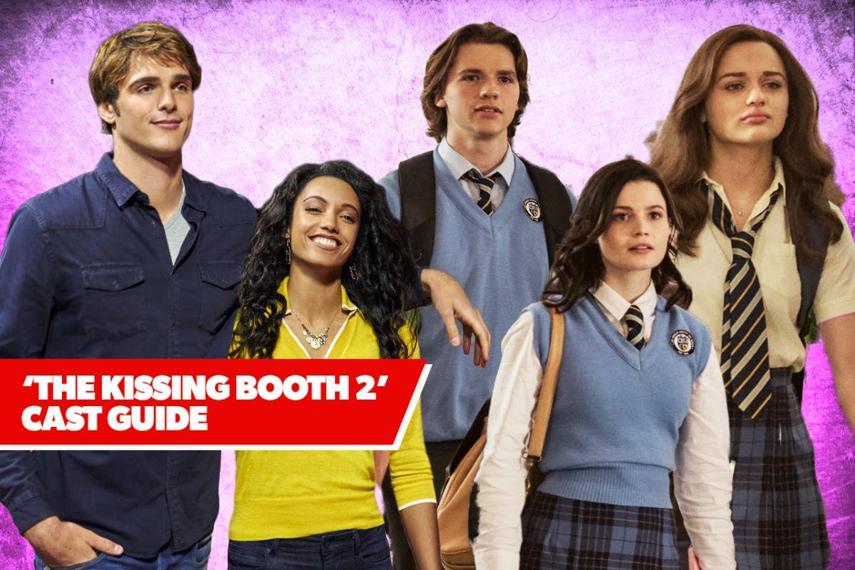 kissing booth cast