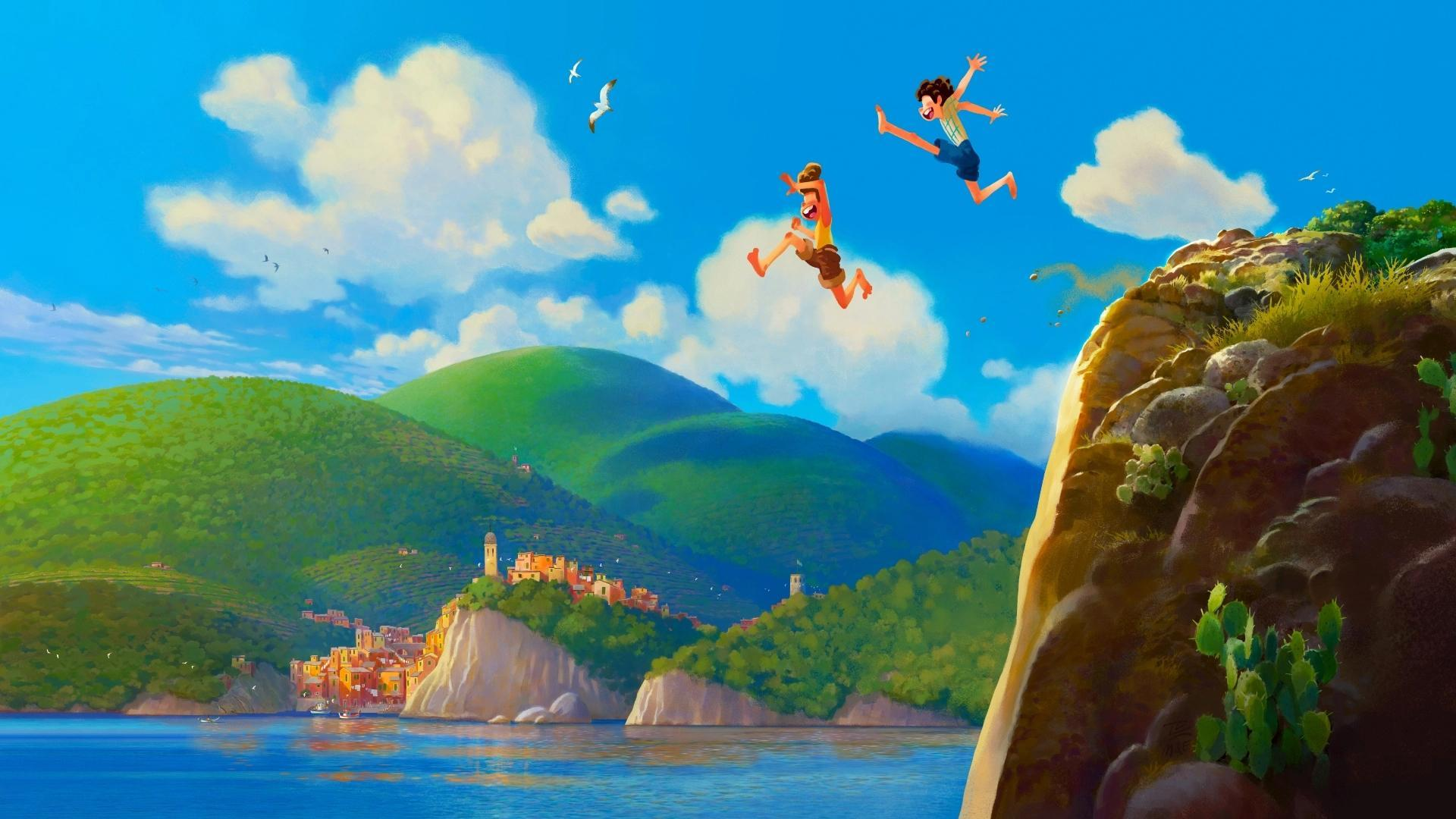 Pixar nový film Luca
