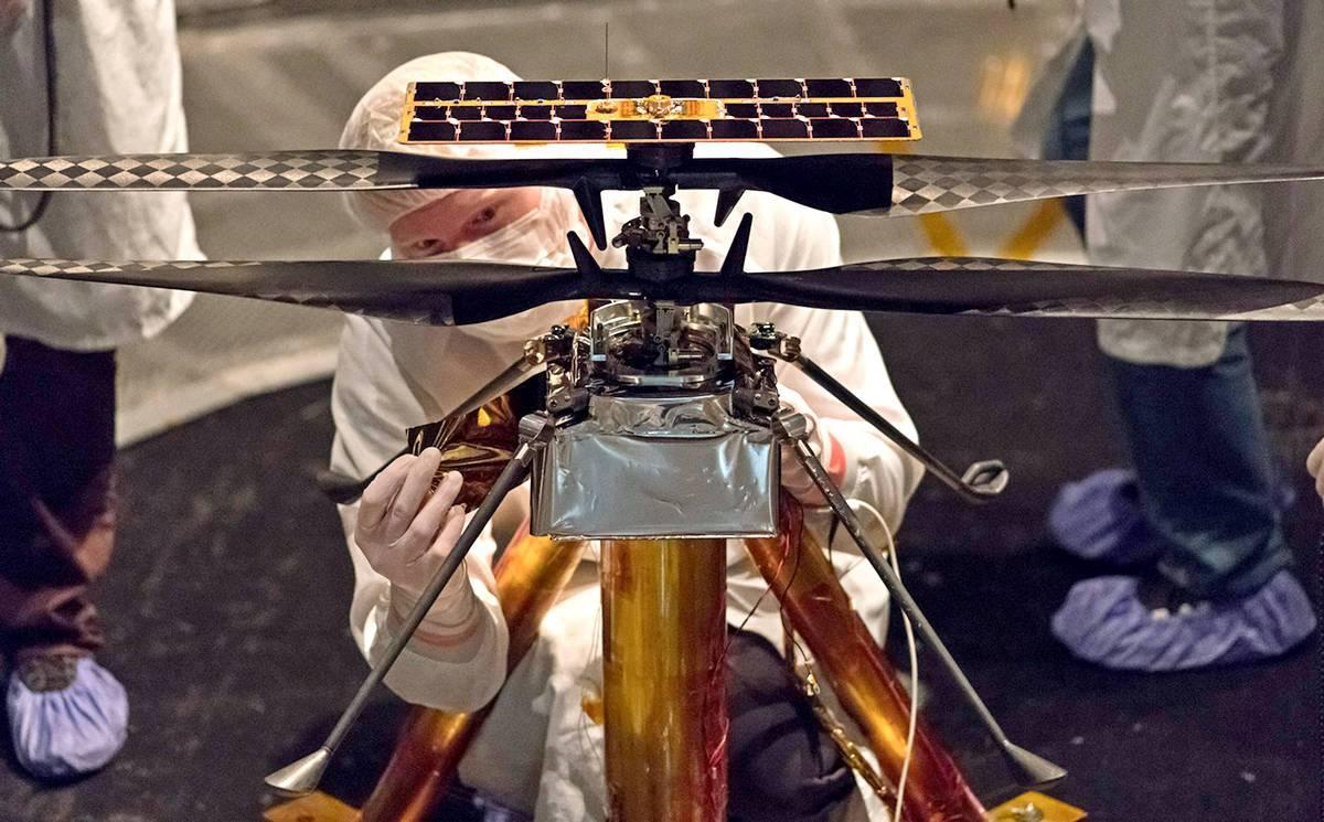medziplanetárna helikoptéra
