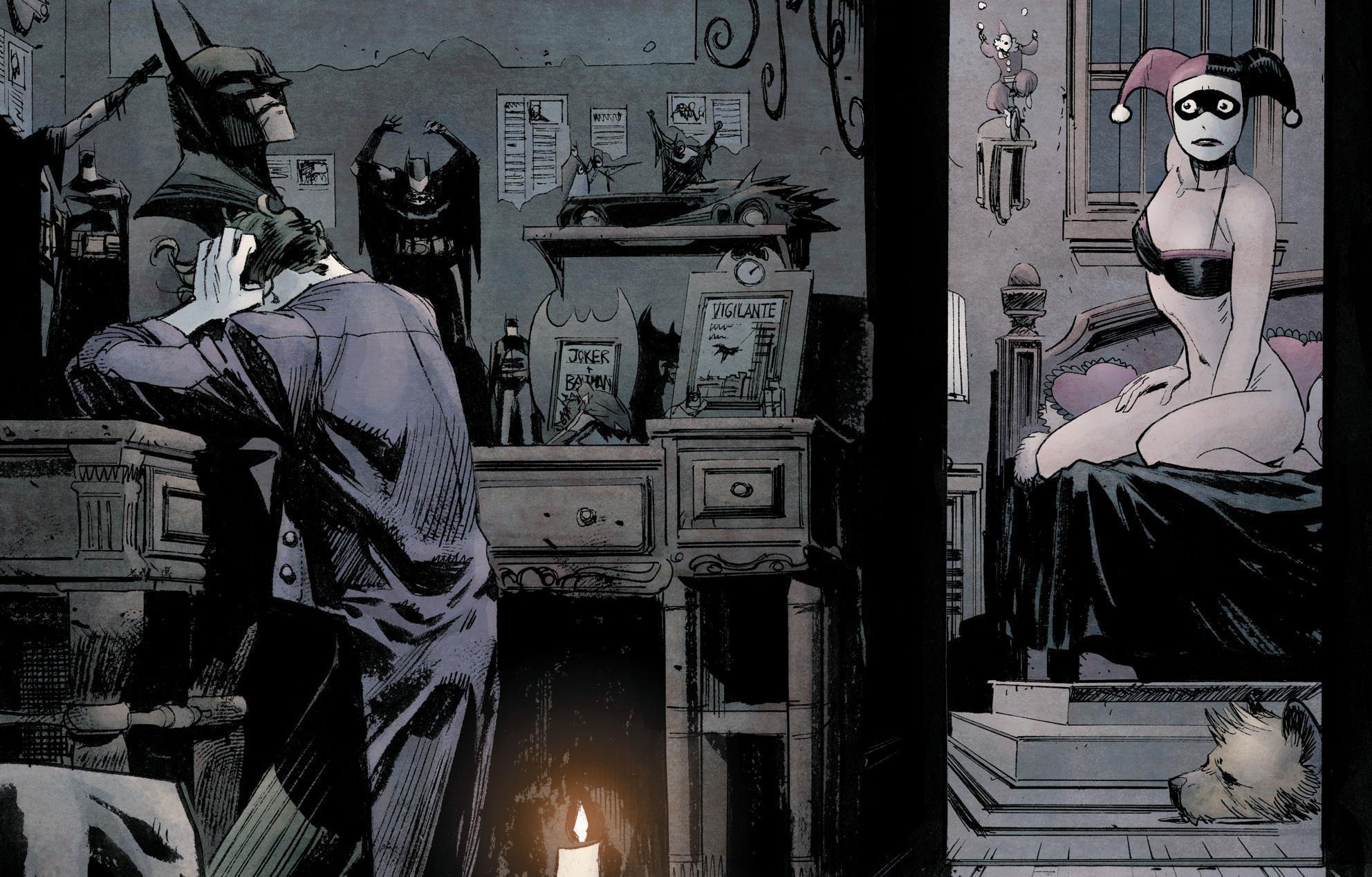 Joker a Harley