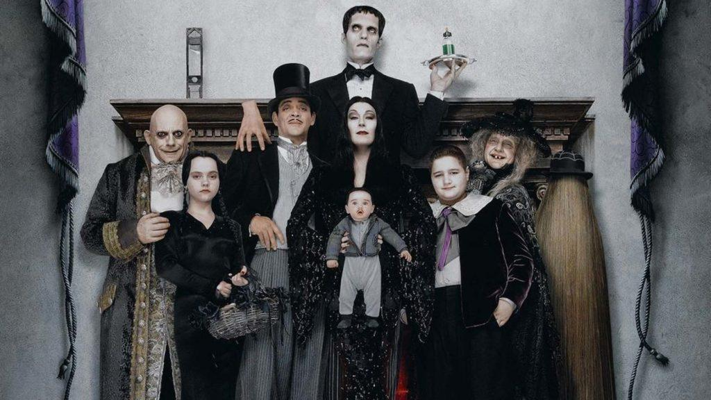 seriál Addamsova rodina