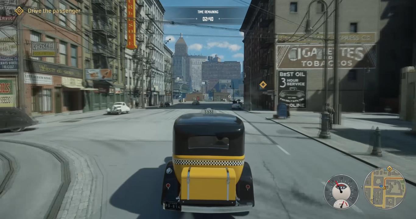 Mafia taxi