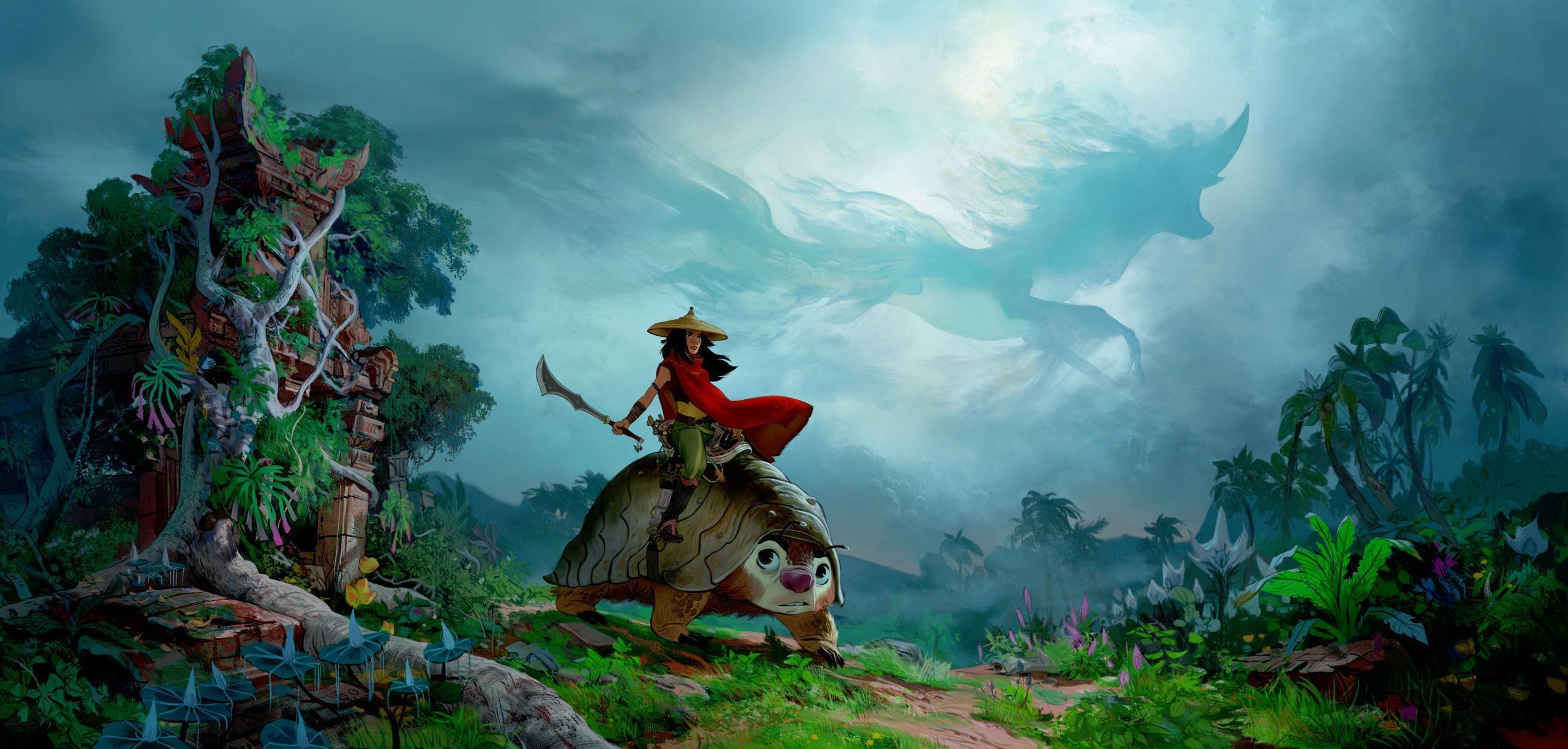 nový trailer na Raya and the Last Dragon