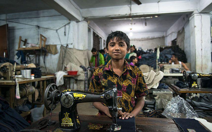 Detská pracovná sila
