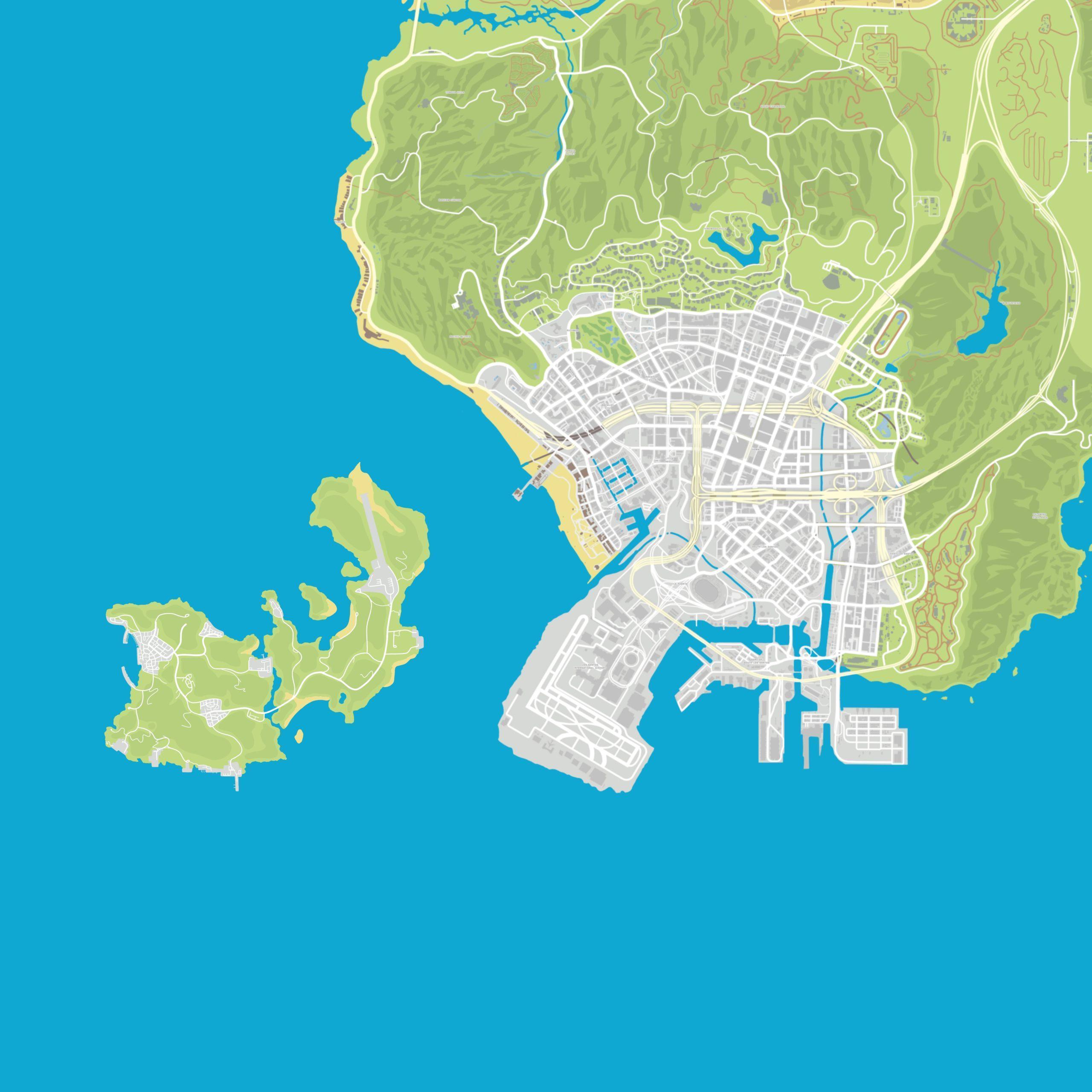 GTA Online nová mapa