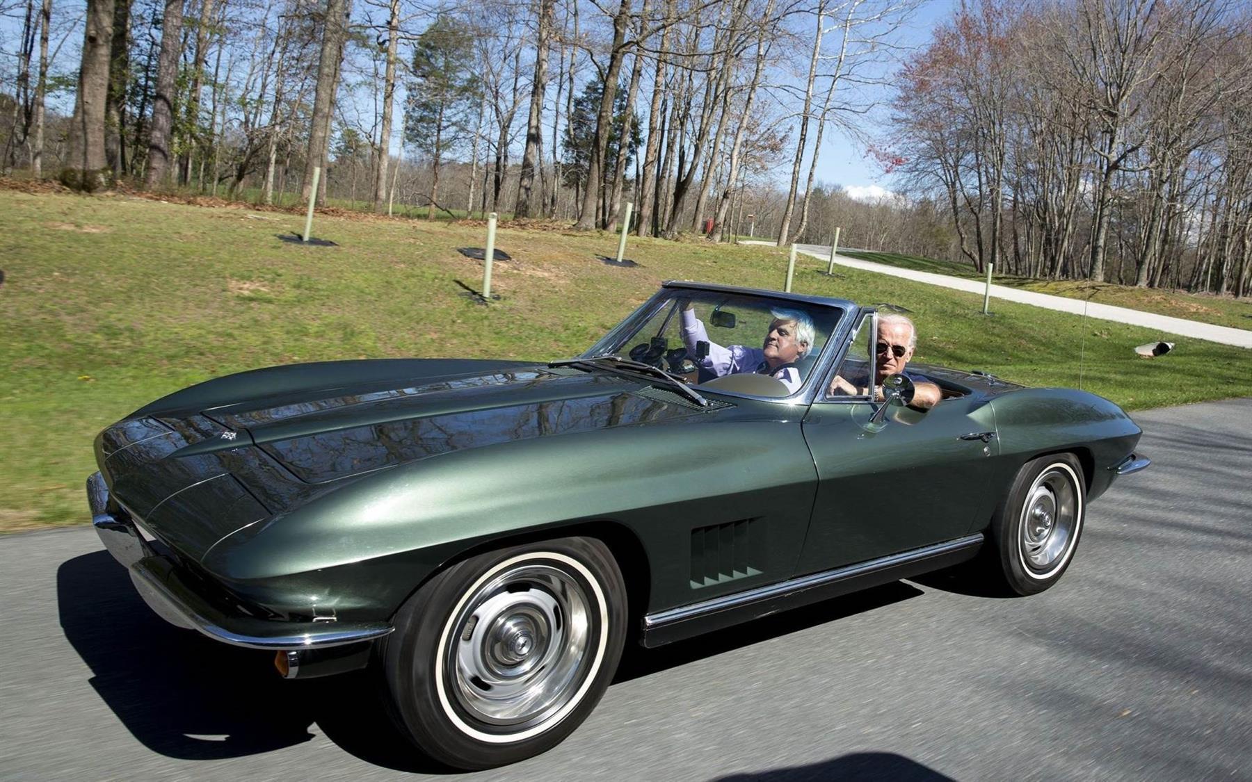 Chevrolet Corvette Stingray je posledné auto, ktoré patrilo Joe Bidenovi