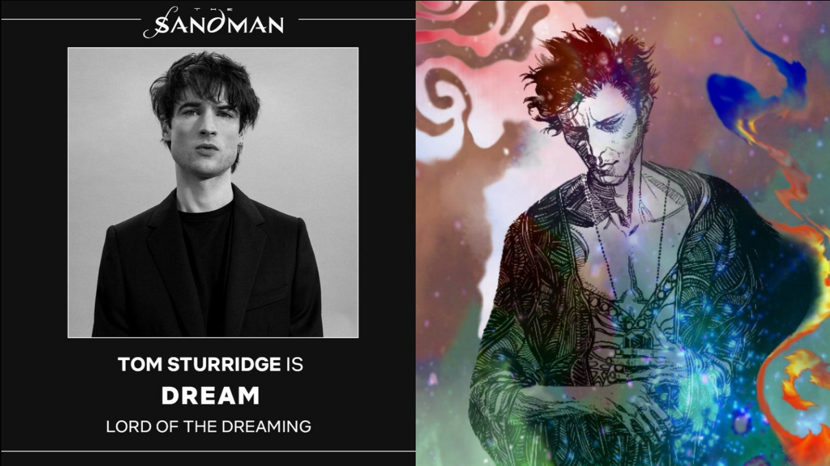 Tom Sturridge is Dream Sandman Netflix Obsadenie