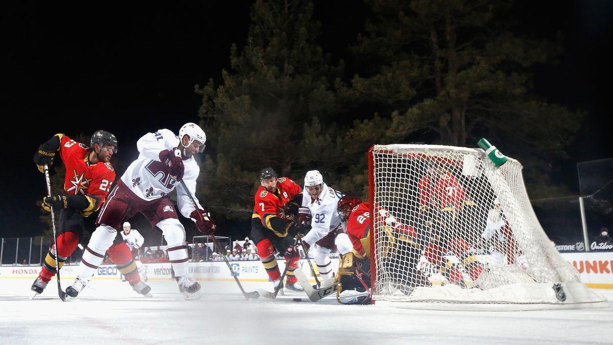 NHL pod holým nebom