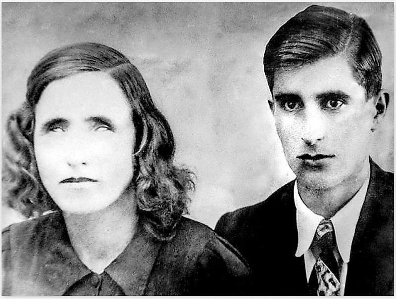Vanga s manželom