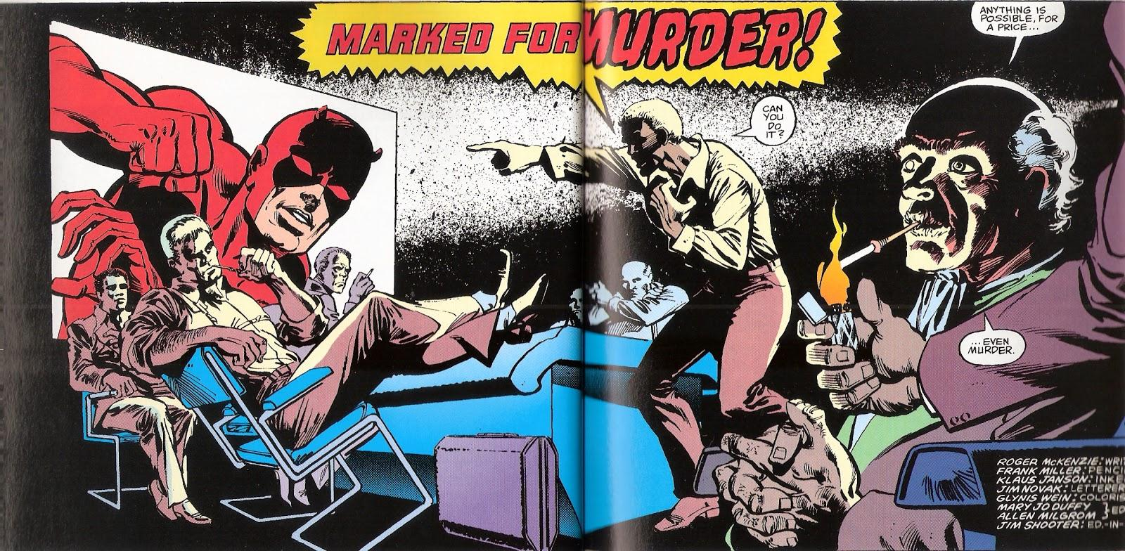 aredevil: Marked for Death