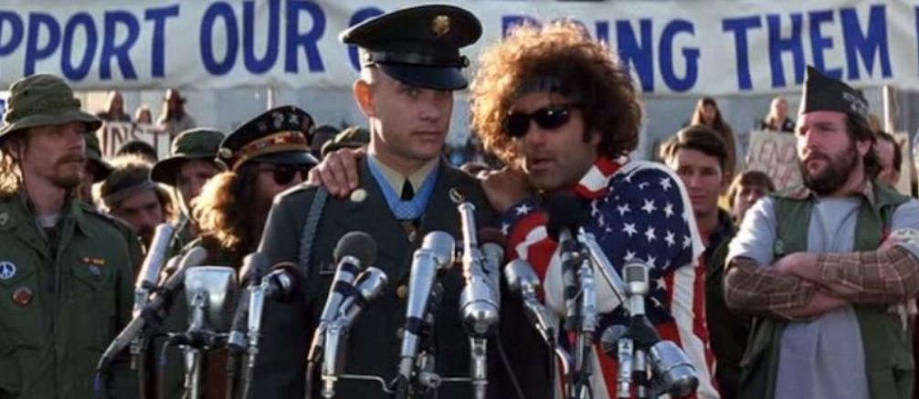 Forrest Gump zaujímavosti Woodstock