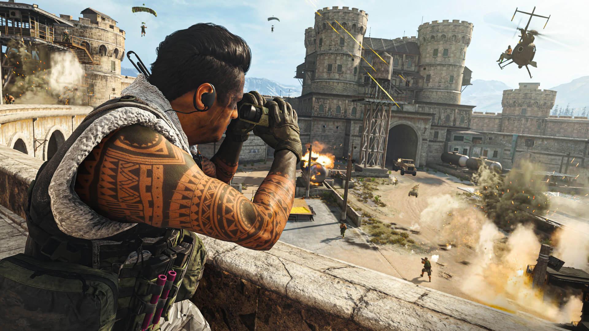 Call of Duty Warzone leak