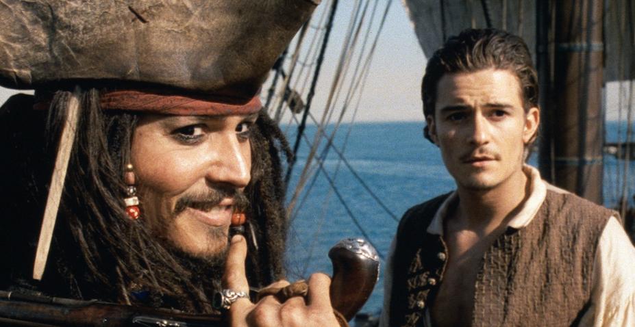 Johny Depp Orlando Bloom Piráti z Karibiku