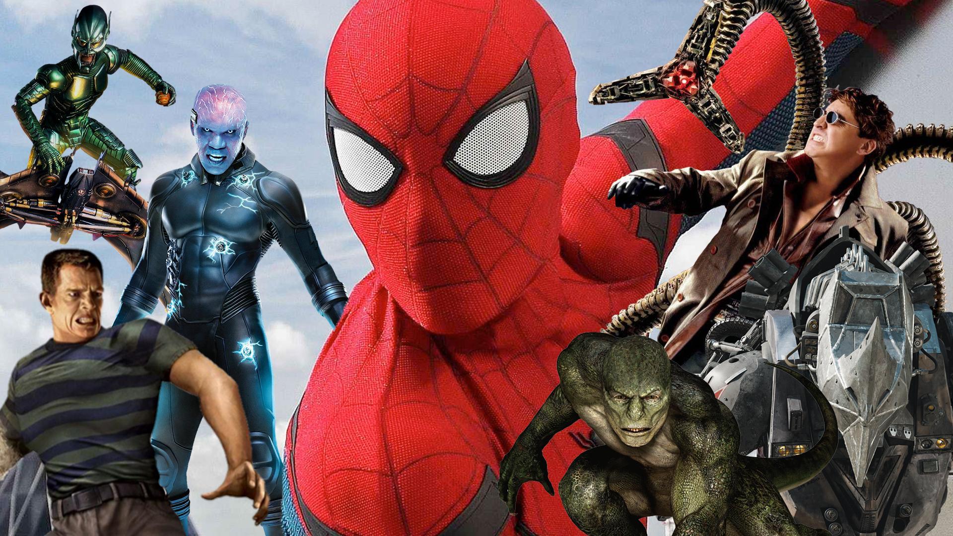 záporáci spider-man no way home