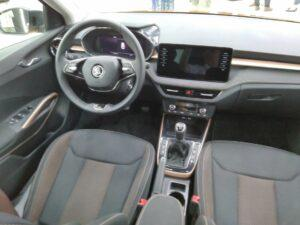 Škoda Fabia interiér