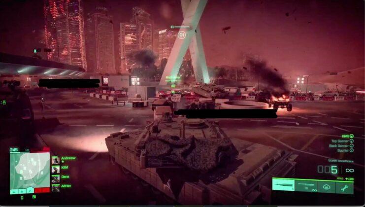 Battlefield gameplay fotky