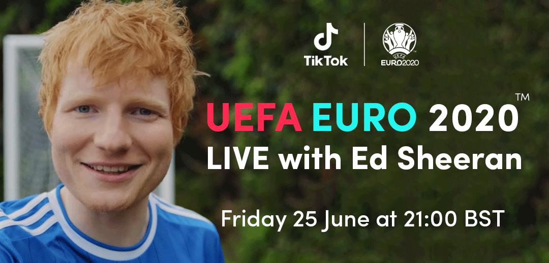ed sheeran uefa euro tiktok