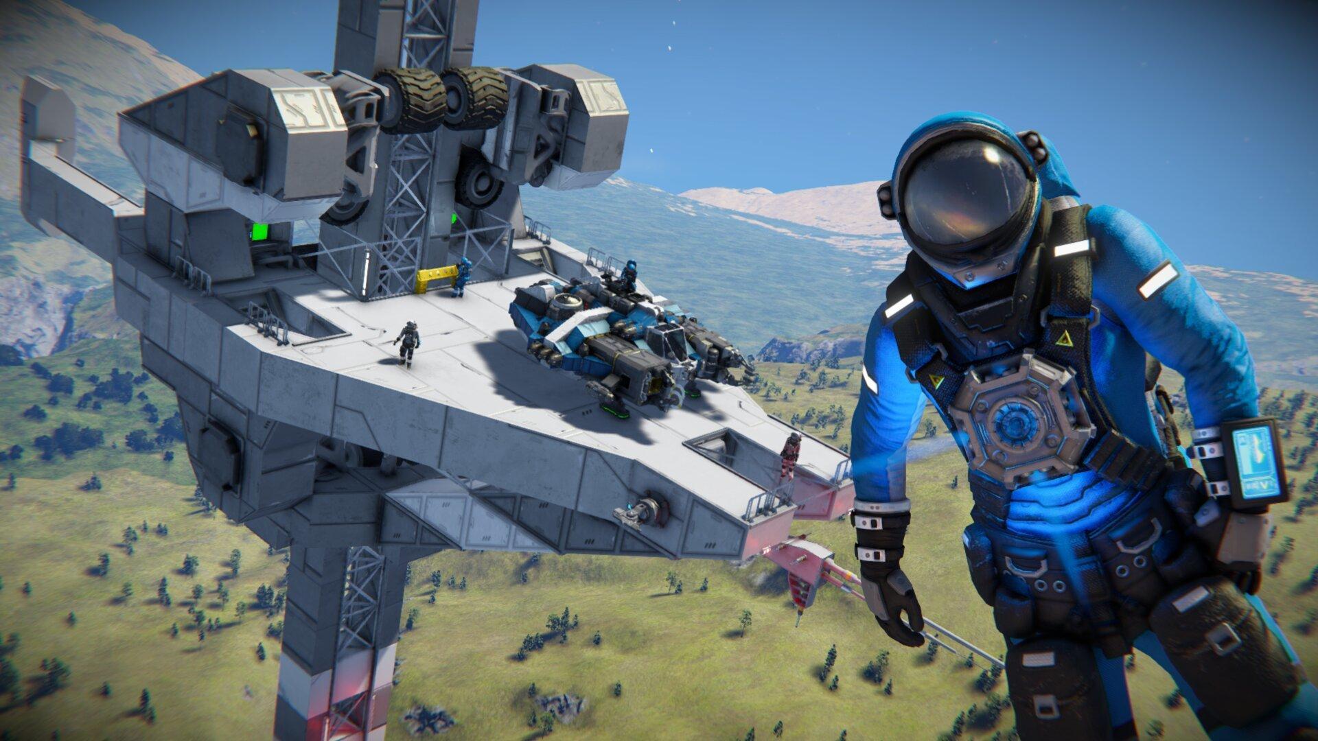 Hra Space Engineers