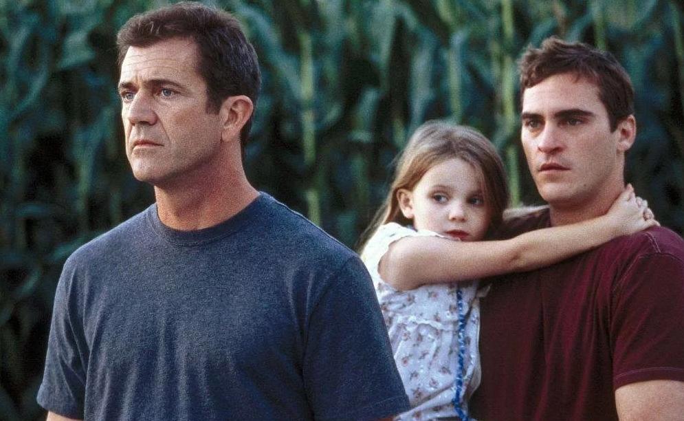 Znamenia Thriller Mel Gibson Joaquin Phoenix
